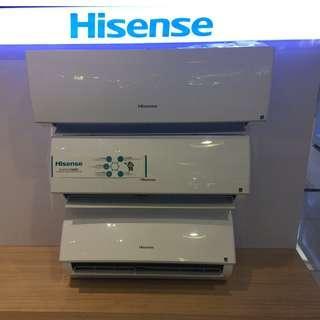 Brand New Hisense Split Type Inverter Free Installation All in Sale!