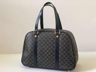 Authentic Celine Vintage Macadam Small Handbag