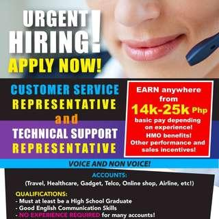 Call Center / BPO full time jobs