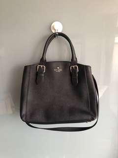 Kate Spade Medium Size Black Leather Bag