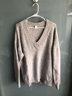 Oversized knit sweater size M
