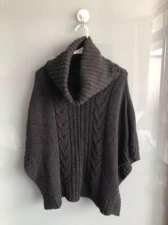 Knit Poncho size M