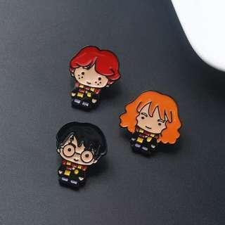 [PO] Harry Potter Enamel Pins