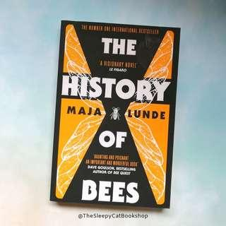 USED BOOK The History of Bees