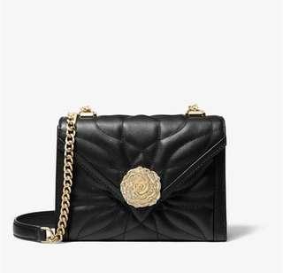 BN full set 100% Authentic Michael Kors Whitney petal small floral crossbody bag sling shoulder rose