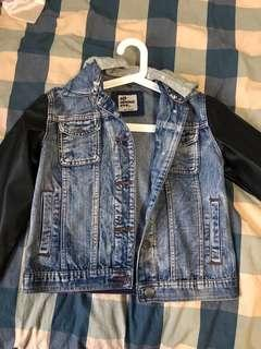 ALL ABOUT EVE DENIM LEATHER JACKET