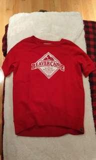 NWOT Beaver Canoe Sweater size small
