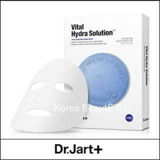 Dr. Jart + Korea Dermask Vital Hydra Solution Deep Hydration Sheet Mask (5 sheets)