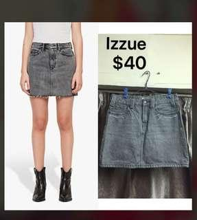 Denim Skirt izzue