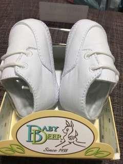 Baptismal shoes ( 6 wks-3 mos.)