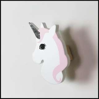 🚚 Unicorn wall decor hook