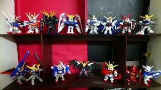SD GUNDAM EX - STANDARD (15pcs good for display)