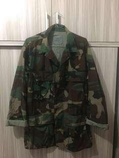 Bdu woodland army Nego mangga