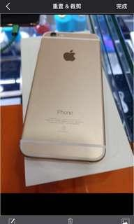 iPhone6.64G.plus.金色.9成新