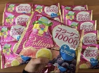 Kabaya collagen gummies candy 🇯🇵