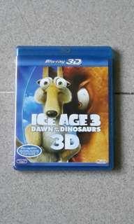 Dvd Ice Age 3 3D/2D.