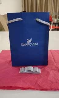 Authentic SWAROVSKI paperbag (including ribbon to seal the bag)
