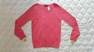 Sweater Rajut Abu-abu Bagus Cewek/Perempuan/Wanita Baru