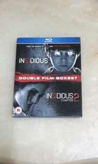 Bluray Insidious 1 & 2.