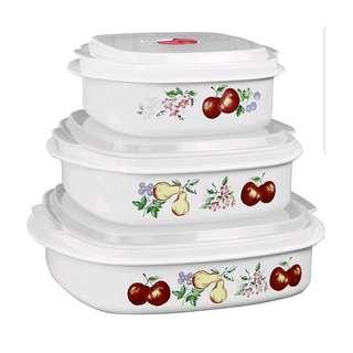 Corelle Coordinates by Reston Lloyd 6-Piece Microwave Cookware, Steamer and Storage Set