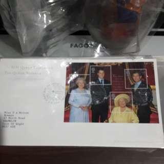 FDR British Royal