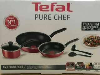TEFAL PURE CHEF  6 PIECE SET