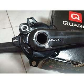 Like new Quarq DZero carbon crank
