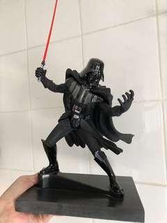 Star wars 黑武士雕像+雲石地台