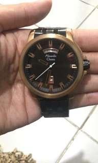 Alexandra Christie Watch - Jam Pria only 750K preloved (belinya 3juta)