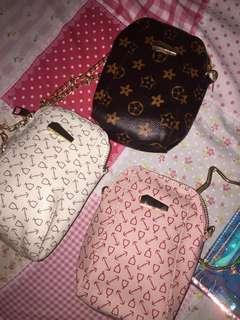 Sling bag / hand bag/ rantai/sepatu /tas/ransel