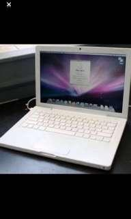 MacBook Unibody White (Not iPad, iPod, MacBook Air, Vaio)