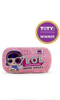 BN LOL surprise series eye spy underwrap dolls