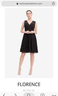 Karimadon (Florence) Dress for rent (blush color)