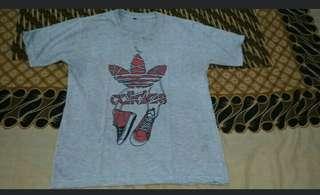 Kaos adidas kw size L #jumat80