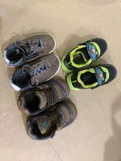 Shoes (Zara, Ben 10, Thomas & Friends)