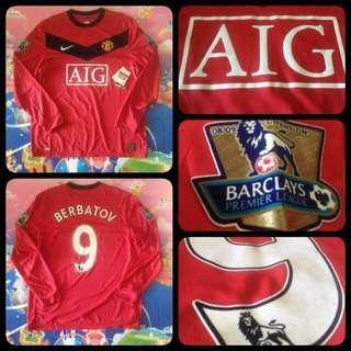 Manchester United Home Kit 09/10