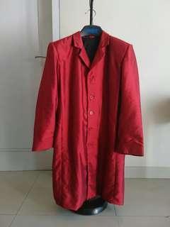 Jas Panjang / Long Coat / Red Coat