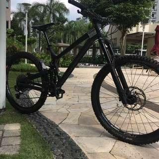Propain spindrift frame only Size M 2018 nego