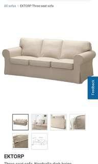 🚚 IKEA Ektorp 3 seater for FREE - Newton