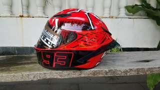 Agv shoei 93 marc marquez kopi/replica