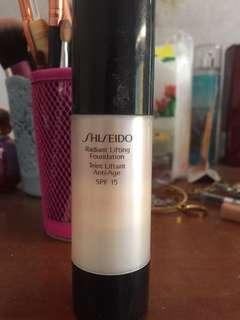 Shiseido foundation spf 15