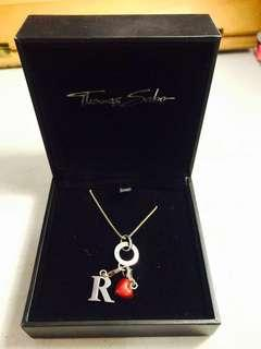 ORIGINAL Thomas Sabo Necklace BUNDLE with 2 charms