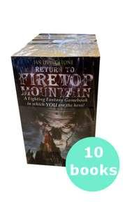 🚚 Fighting Fantasy Set (10 books)
