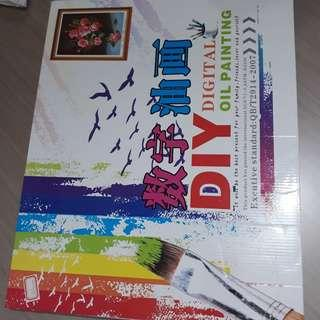 DIY Digital Oil Painting Set