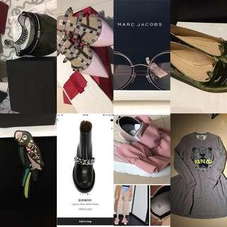 Chanel、CL、Givenchy、Valentino、Dior