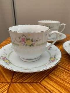 Last Price! BN Cups And Saucers (6 sets)