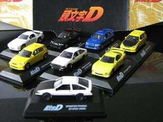 Limited edition inital d car collection