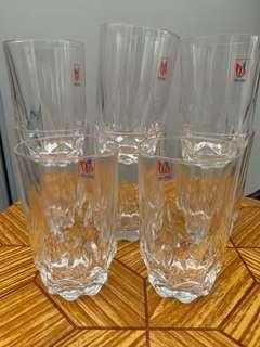 BN Drinking Glasses (8pcs)