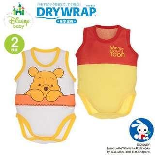 迪士尼 BB維尼熊連身衣 Disneyland Winnie the Pooh Bodysuit