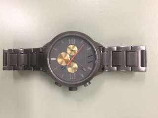 Armani exchange Gun metal Grey Watch Stainless Steel